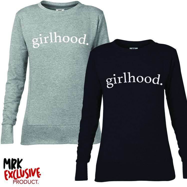 Girlhood Crew Sweater (MRK X)
