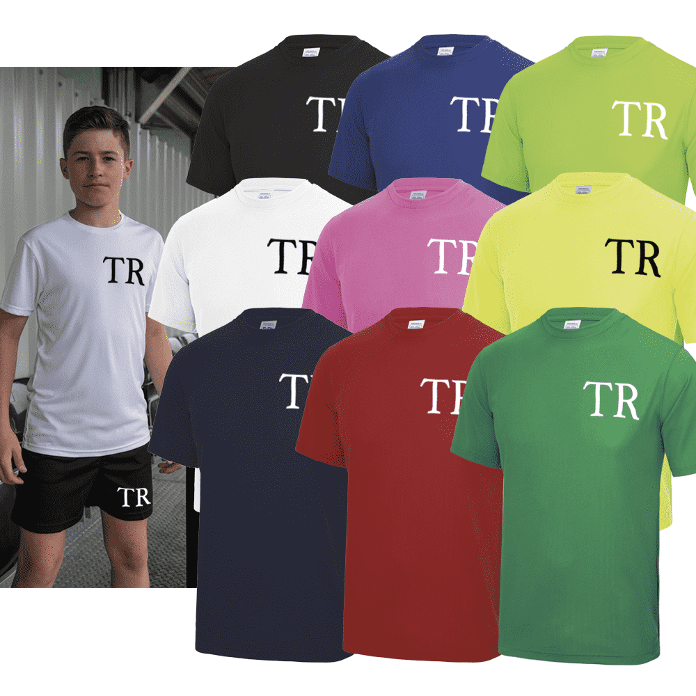 Personalised Initial Poly Tee (MRK X)