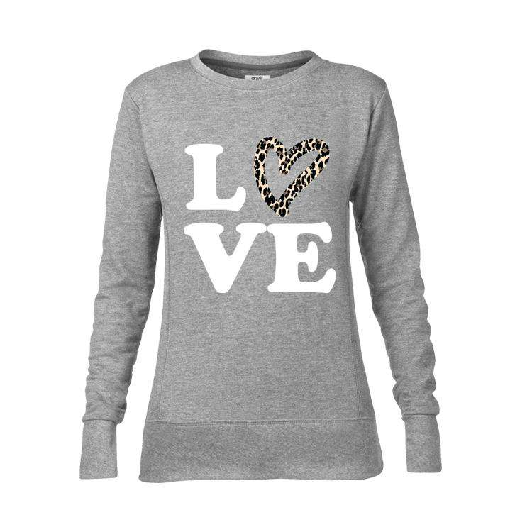 LOVE Leopard Print Family Matching Sweaters (MRK X)