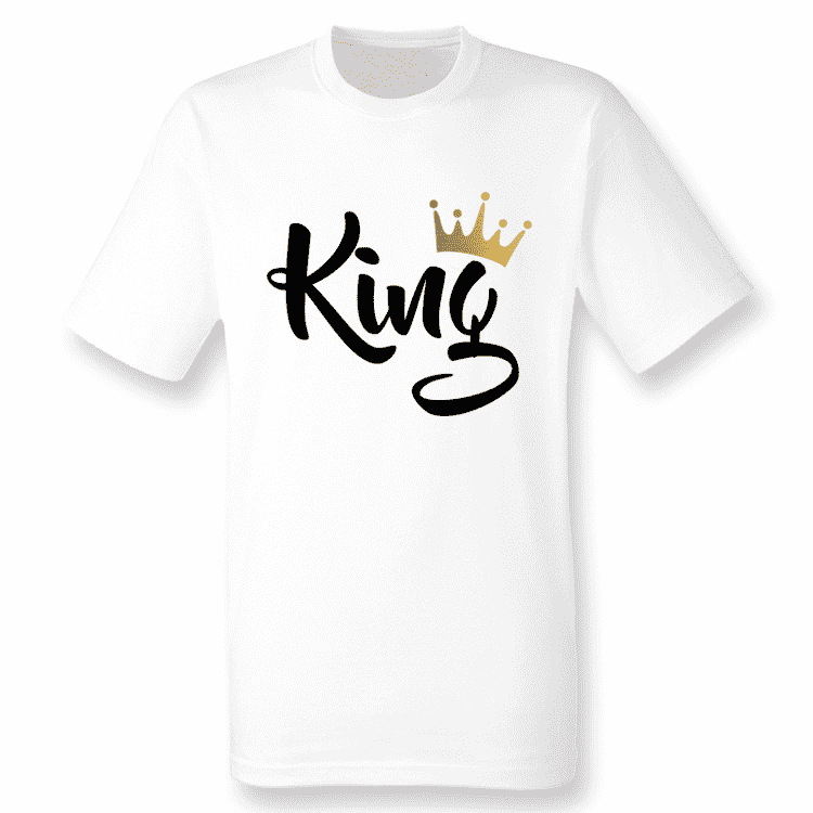 Royal Family White/Gold Matching Tees (MRK X)
