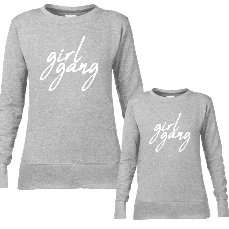 Girl Gang Women & Kid Matching Sweaters (MRK X)