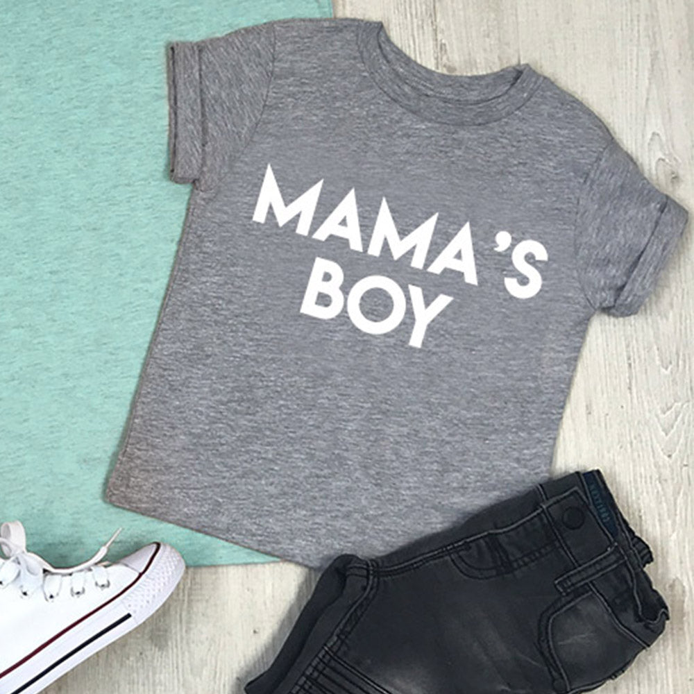 Mama & Mama's Boy & Girl Mum & Kid Matching Tees (MRK X)