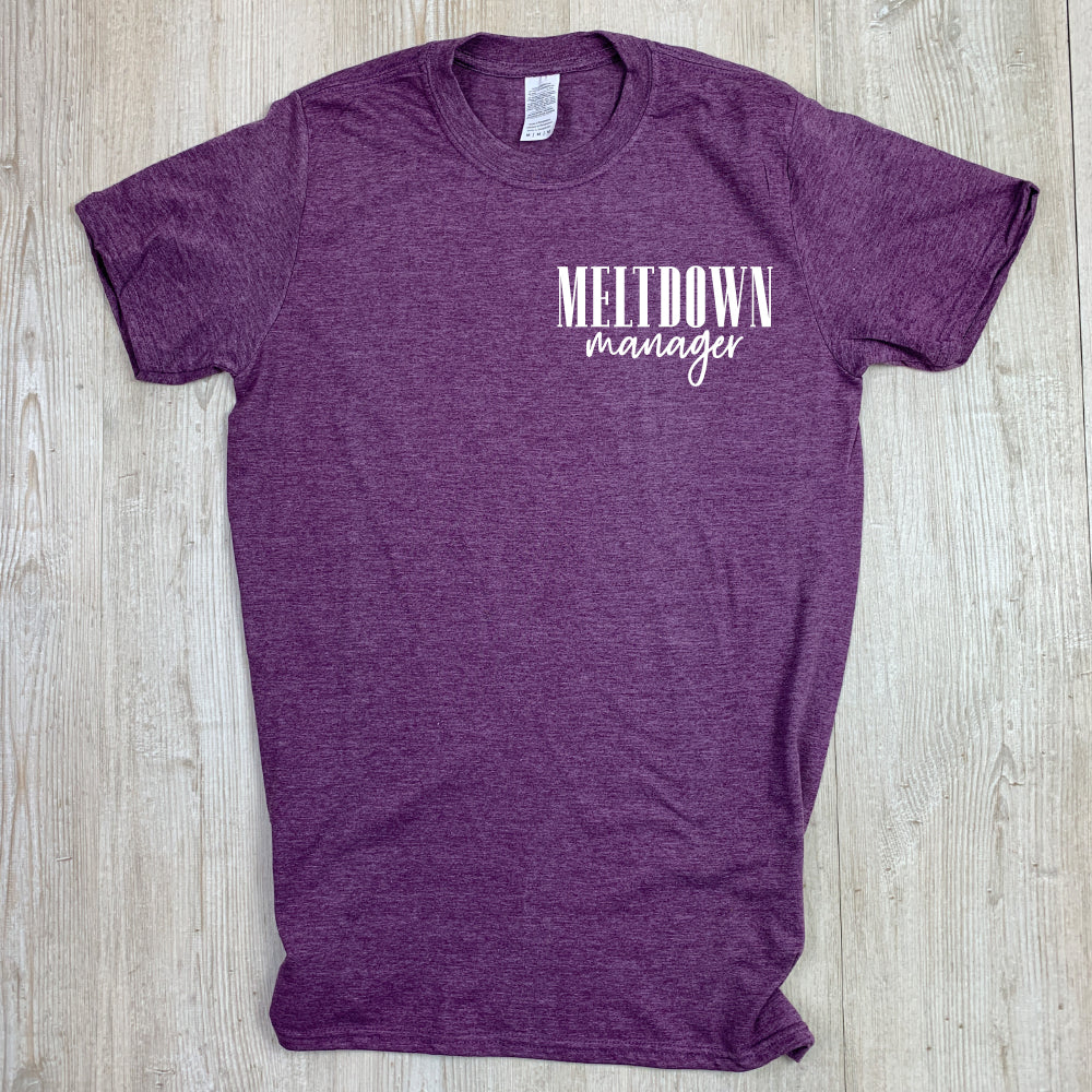 Meltdown Manager Tee (MRK X)