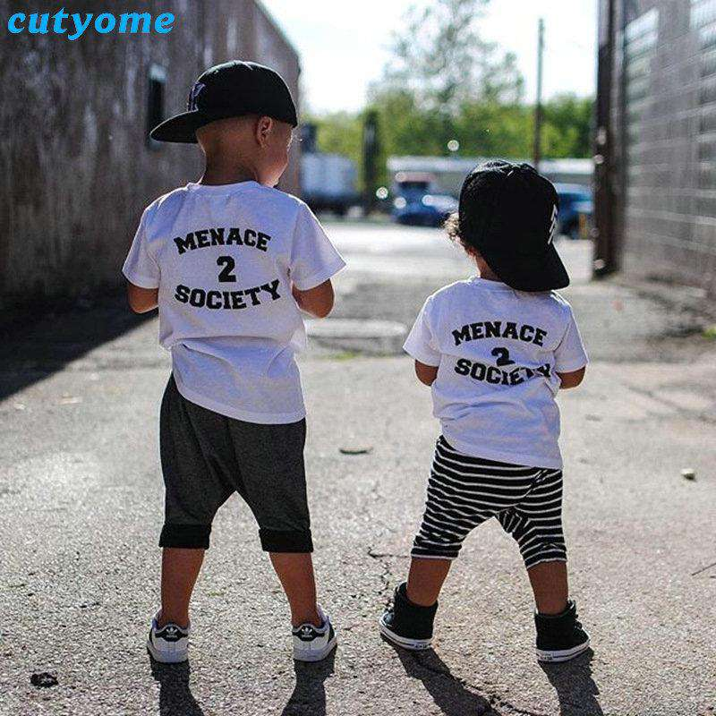 Menace 2 Society Multi Tees (1-14 Years) (MRK X)
