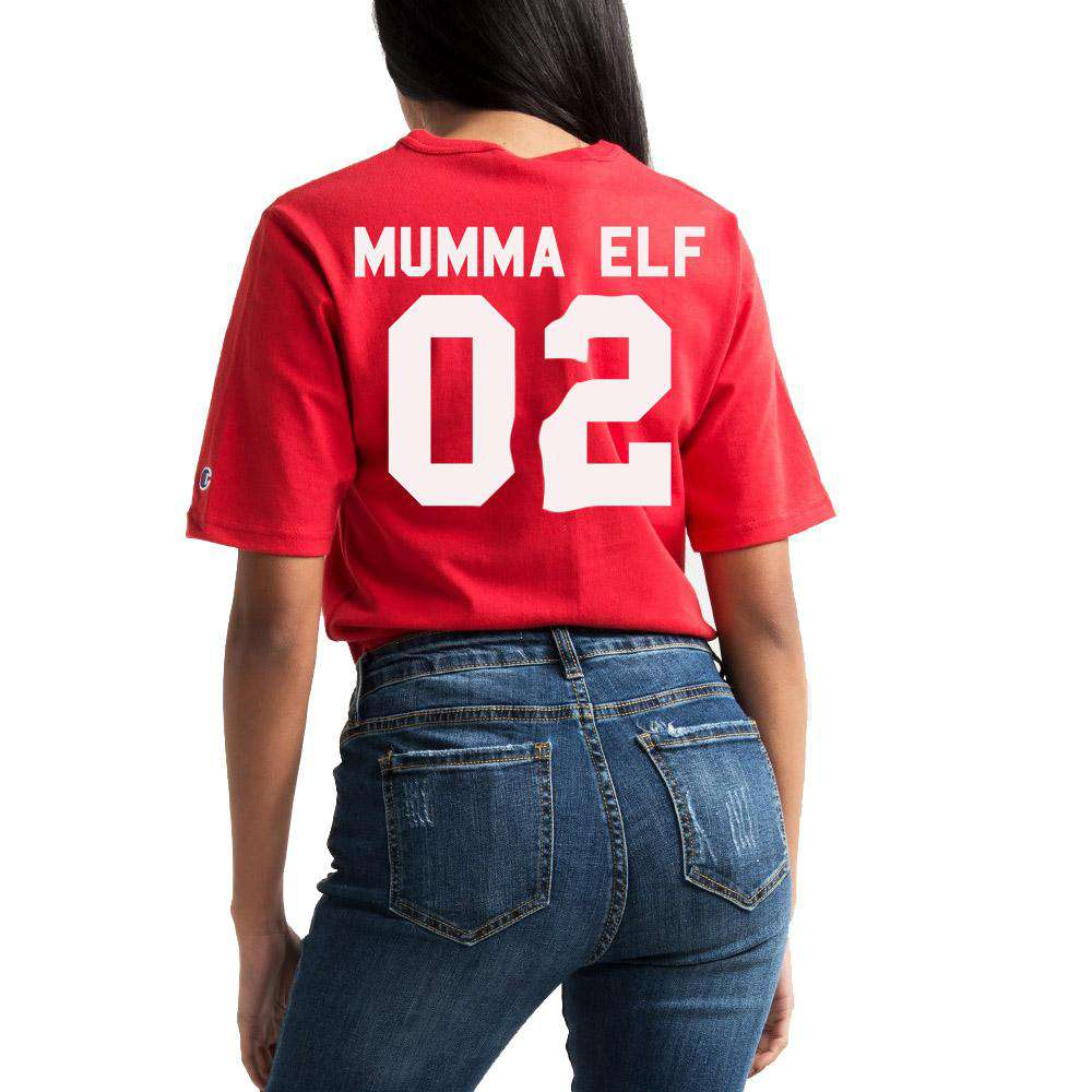 Mumma Elf Family Matching Tee/Rompers (MRK X)