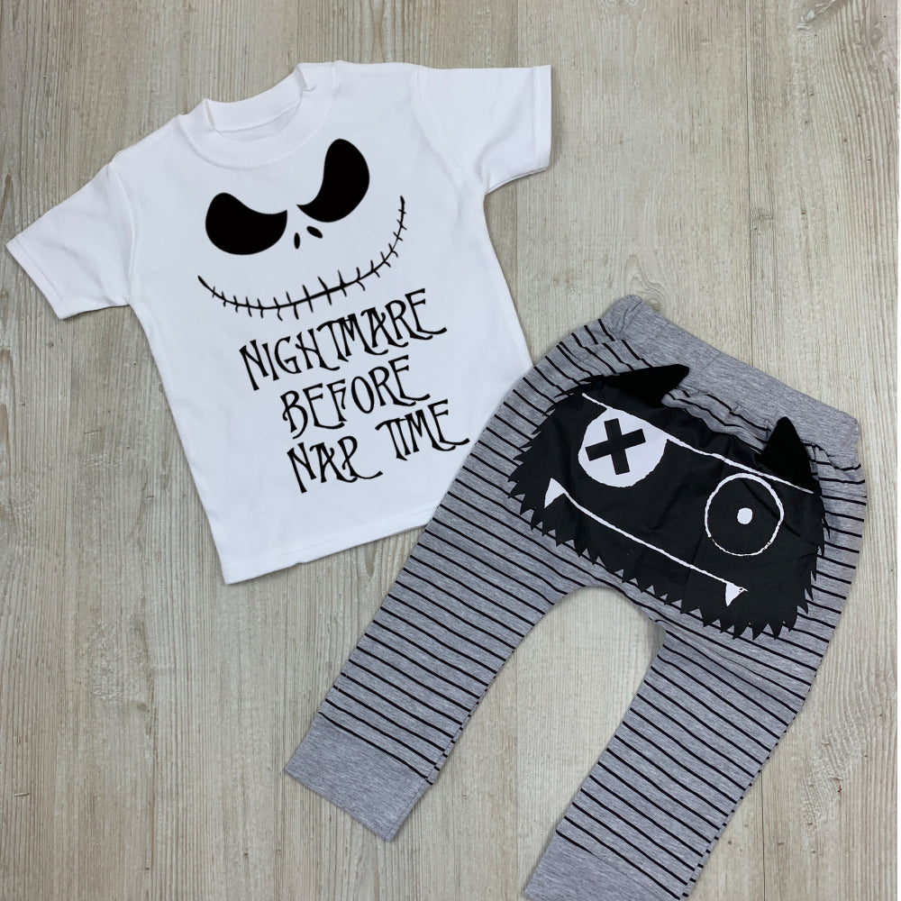 Nightmare Nap Time Tee & Monster Pant Set (MRK X)