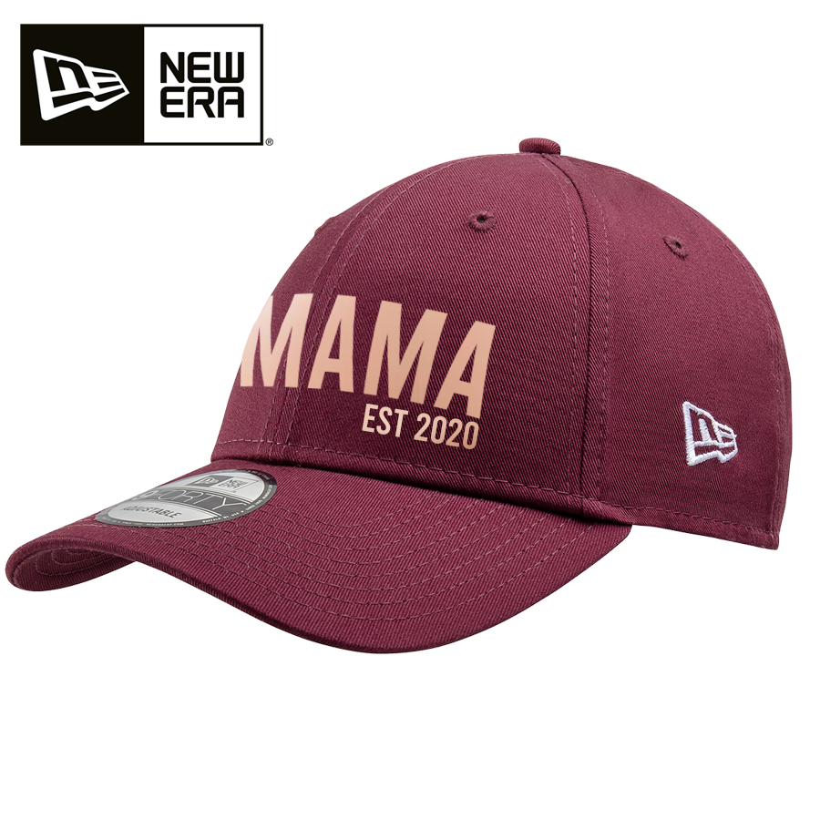 New Era 9FORTY Personalised Mama Est Cap (MRK X)