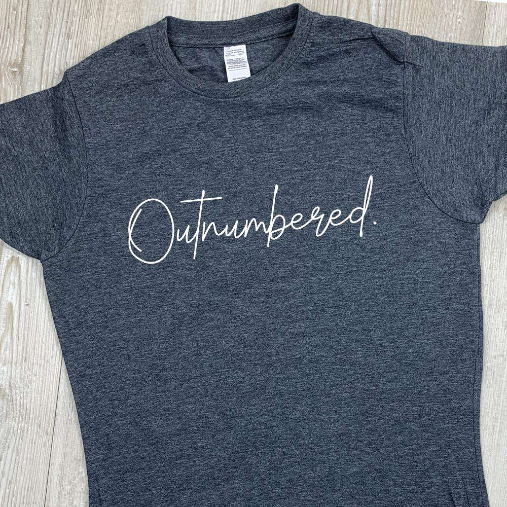 Outnumbered Script Tee (MRK X)