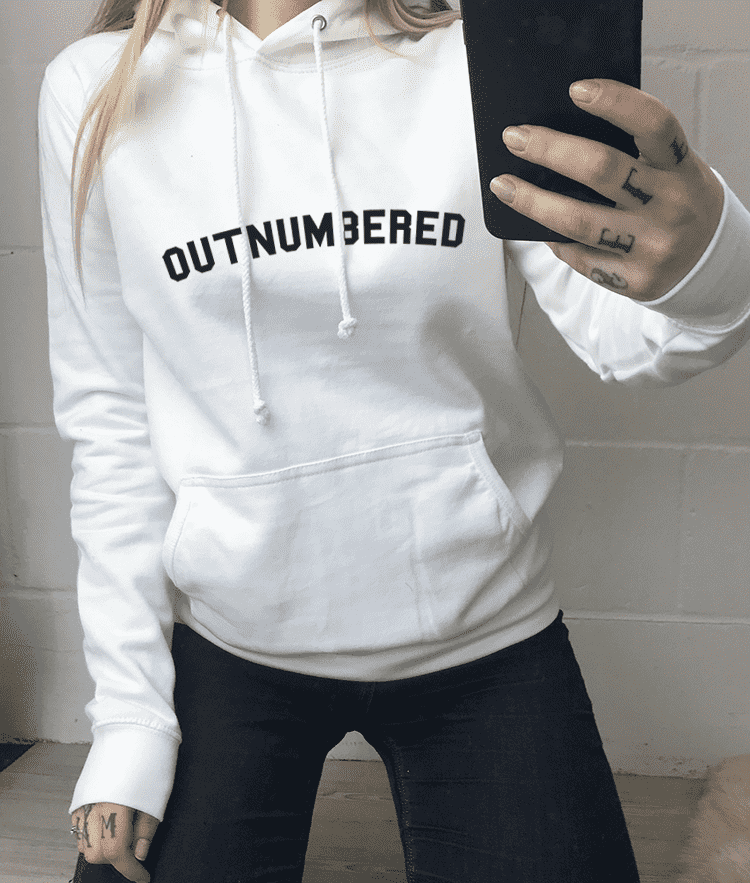 Outnumbered Hoody (MRK X)