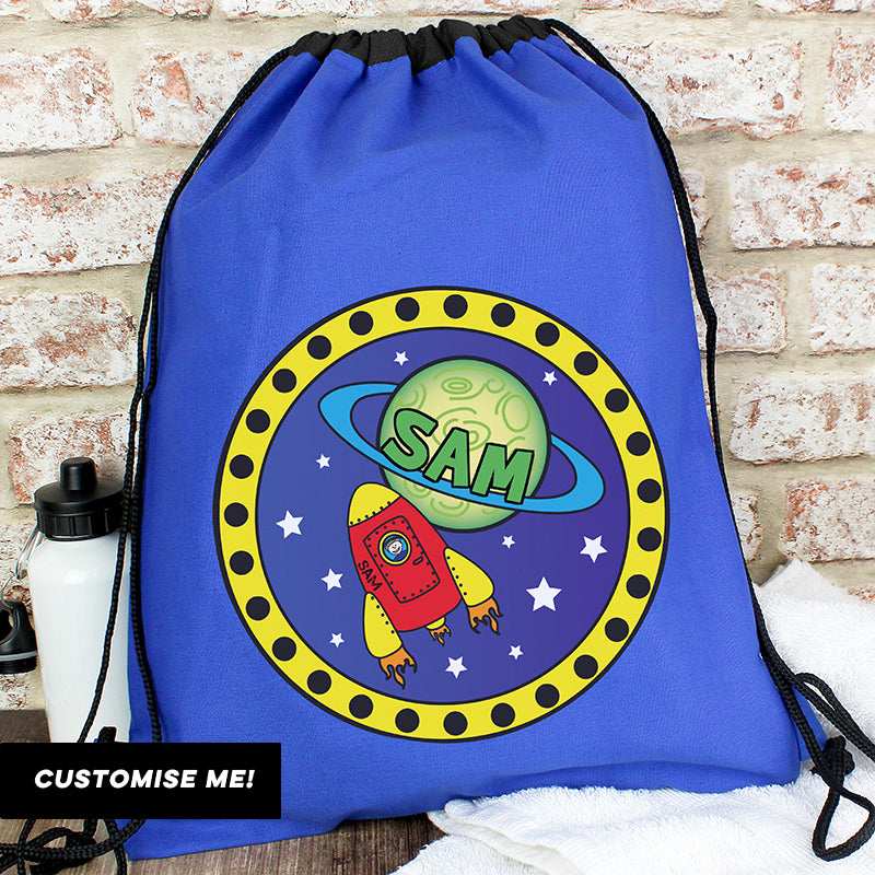 Personalised Space Swim & Kit Bag (MRK-iD)