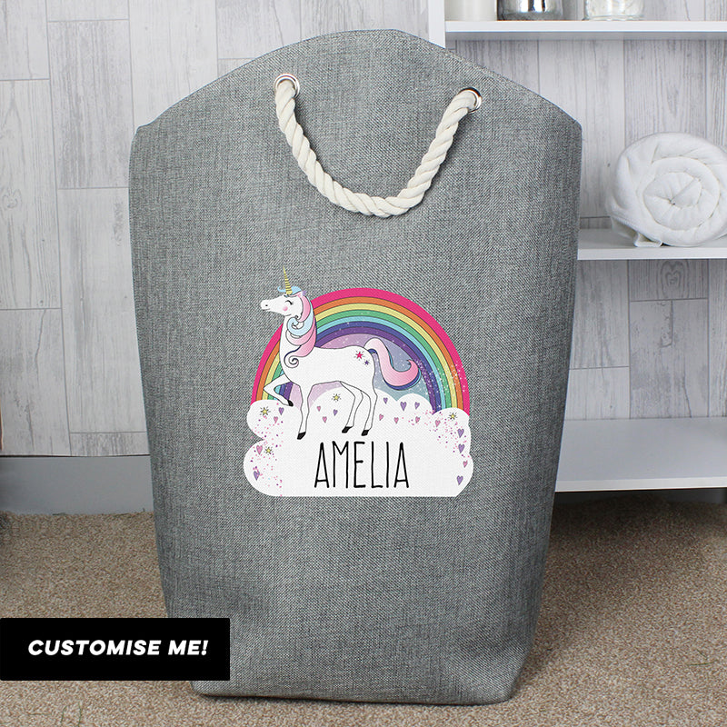 Personalised Unicorn Storage Bag (MRK-iD)