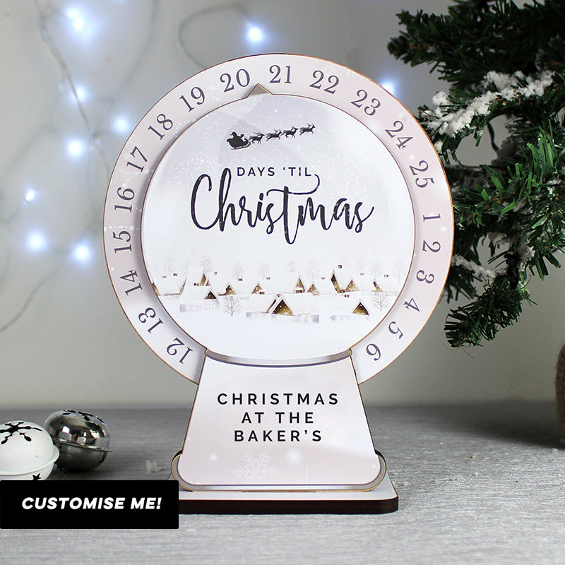 Personalised Make Your Own Christmas Advent Countdown Kit (MRK-iD)
