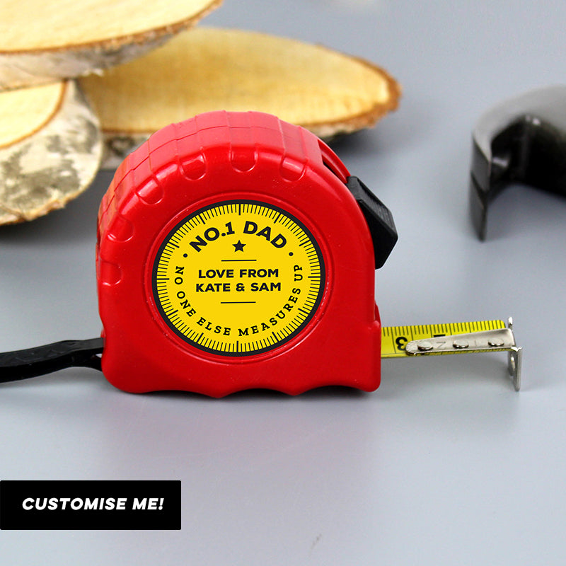 Personalised No One Else Measures Up Tape Measure (MRK-iD)