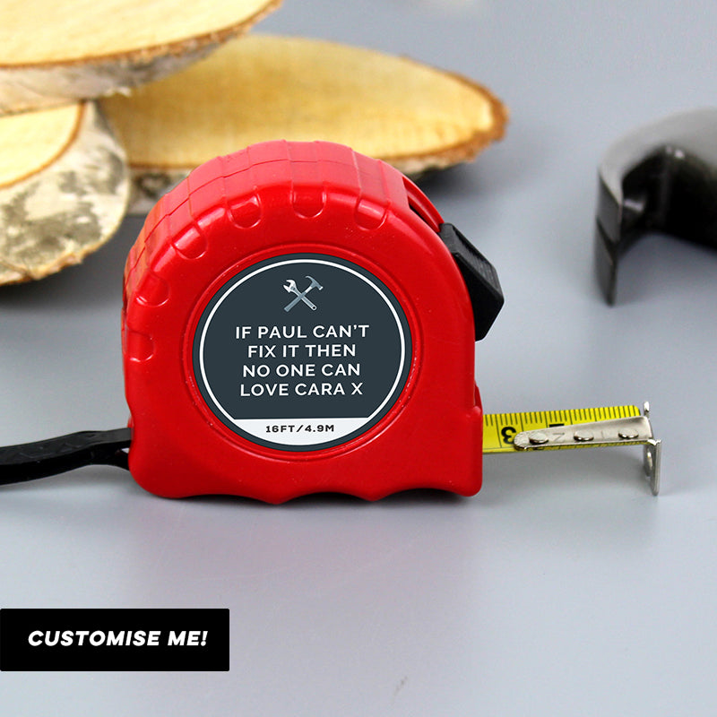 Personalised Tools Tape Measure (MRK-iD)