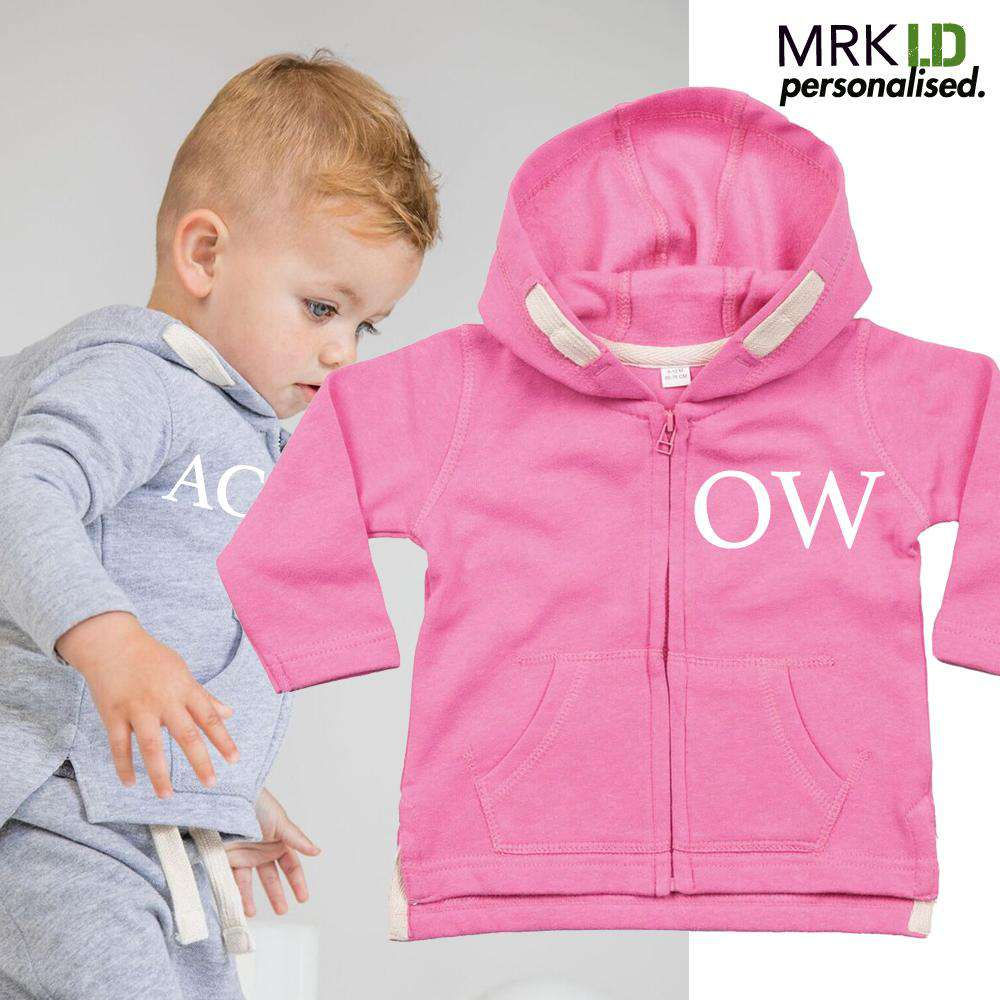 Personalised Initial Zip-Up Tracktop (MRK X)