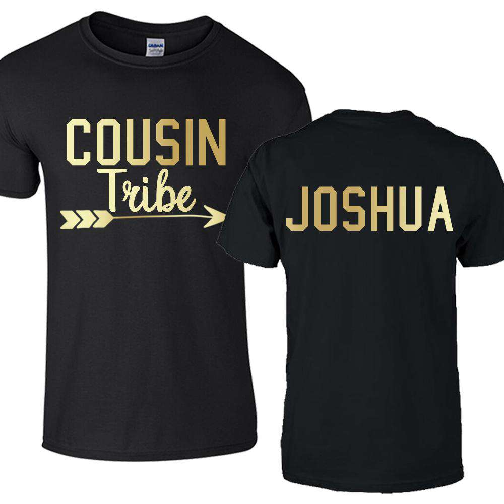 Personalised Cousin Tribe Tees (MRK X)