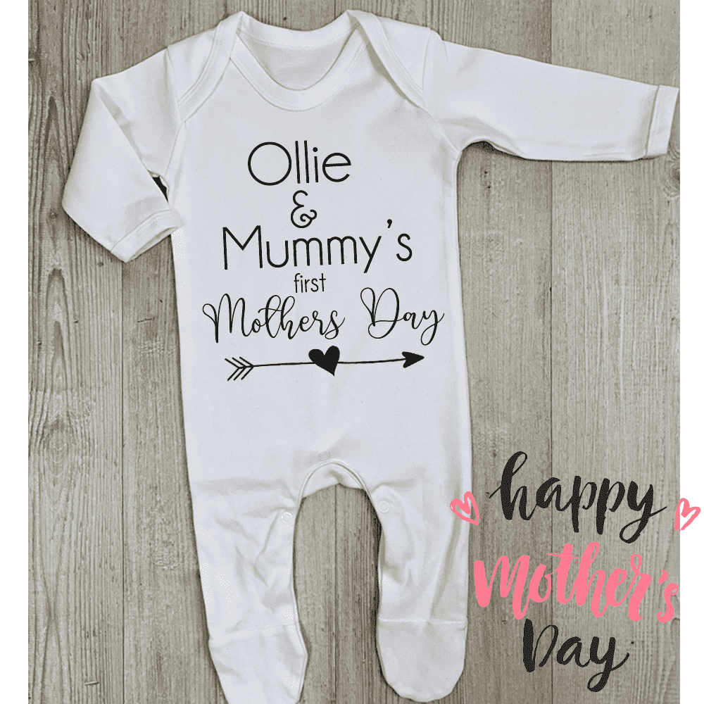 Personalised Kid & Mummy Mothers Day Romper (MRK X)