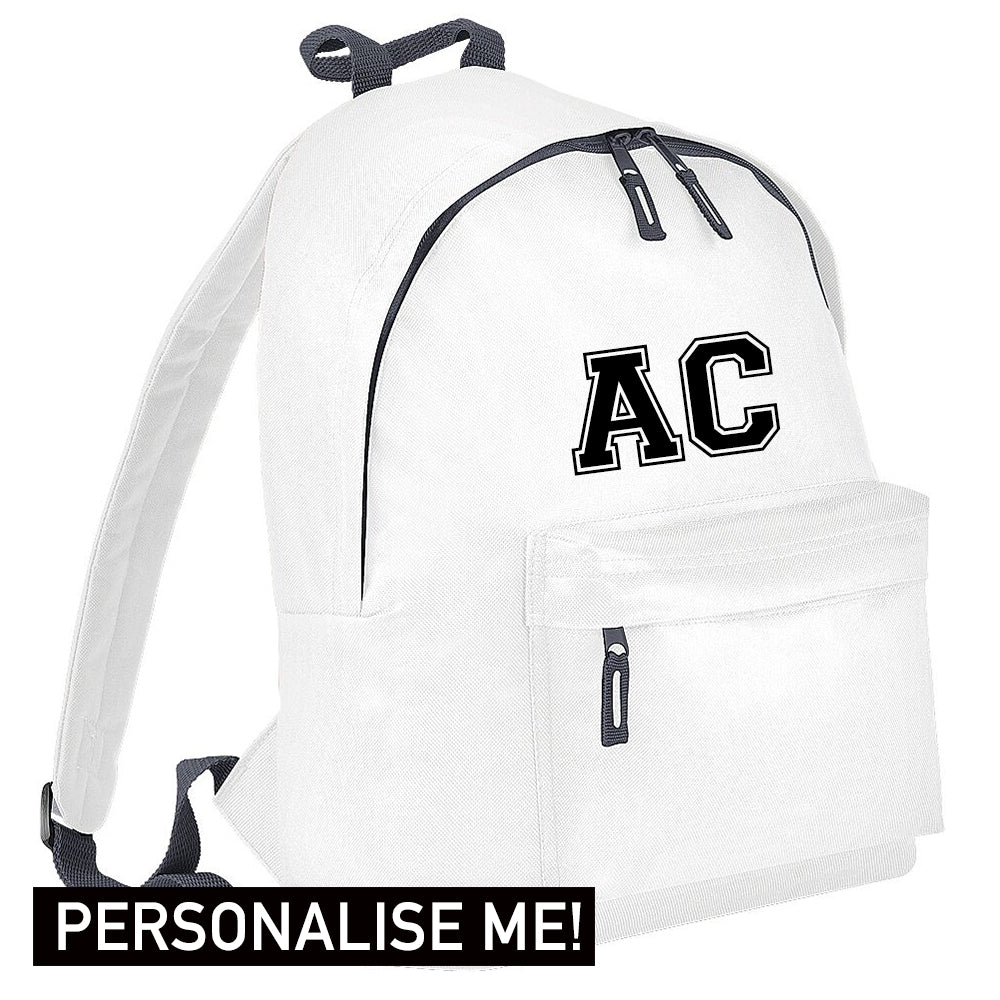 Personalised Initial Varsity Junior Backpack (MRK X)