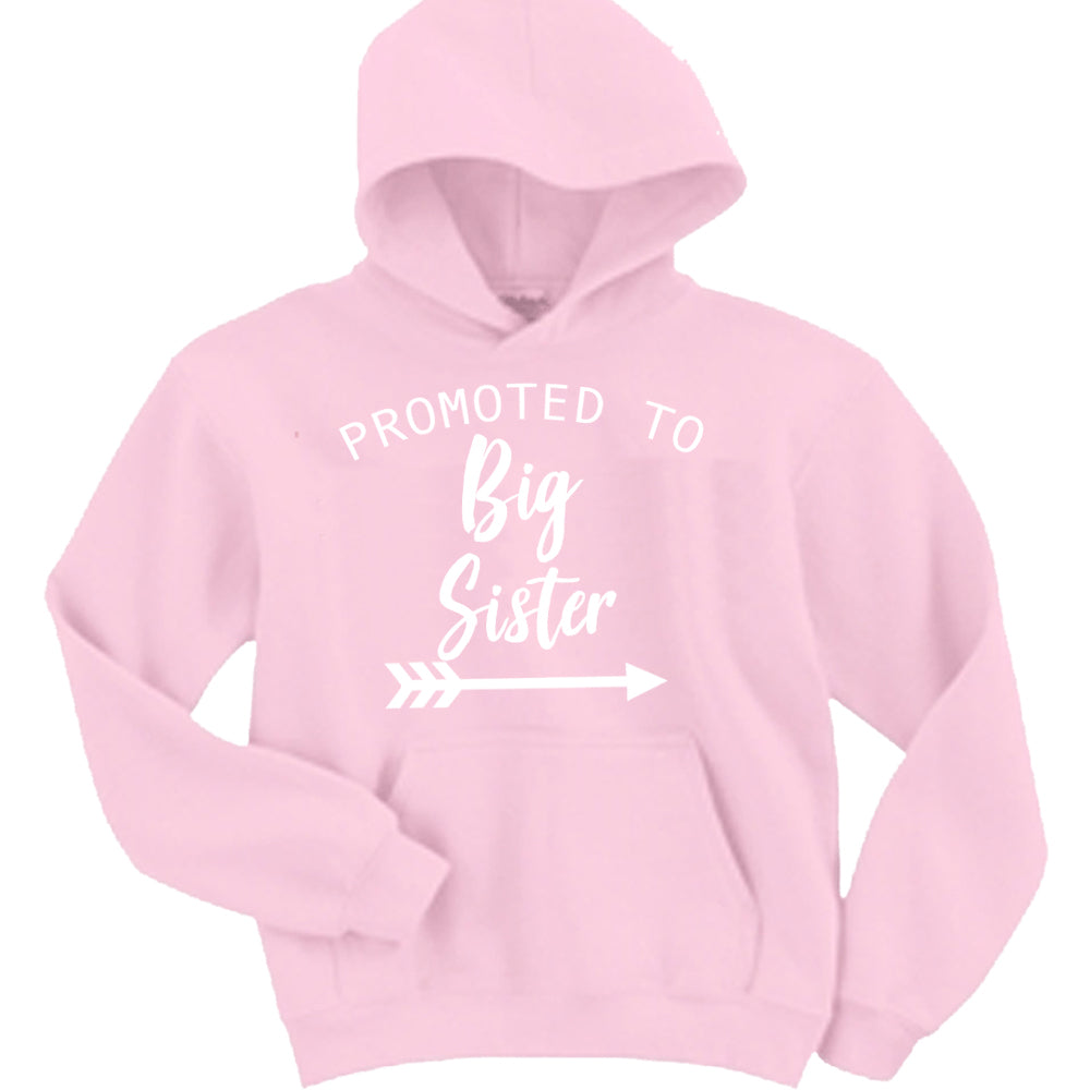Promoted to Big Sister Hoodie (MRK X)