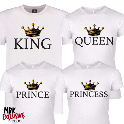 Royal Family White Crown Matching Tees (MRK X)