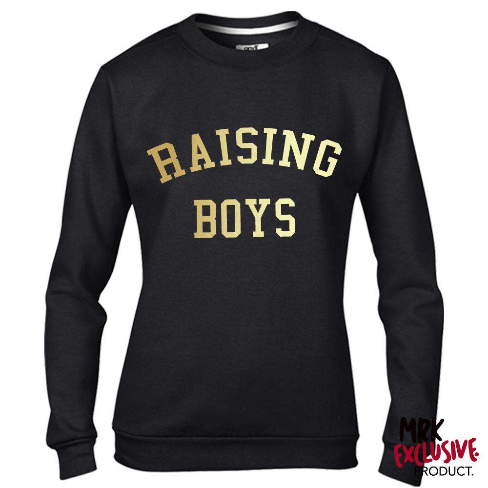 Raising Boys Black/Gold Sweater (MRK X)