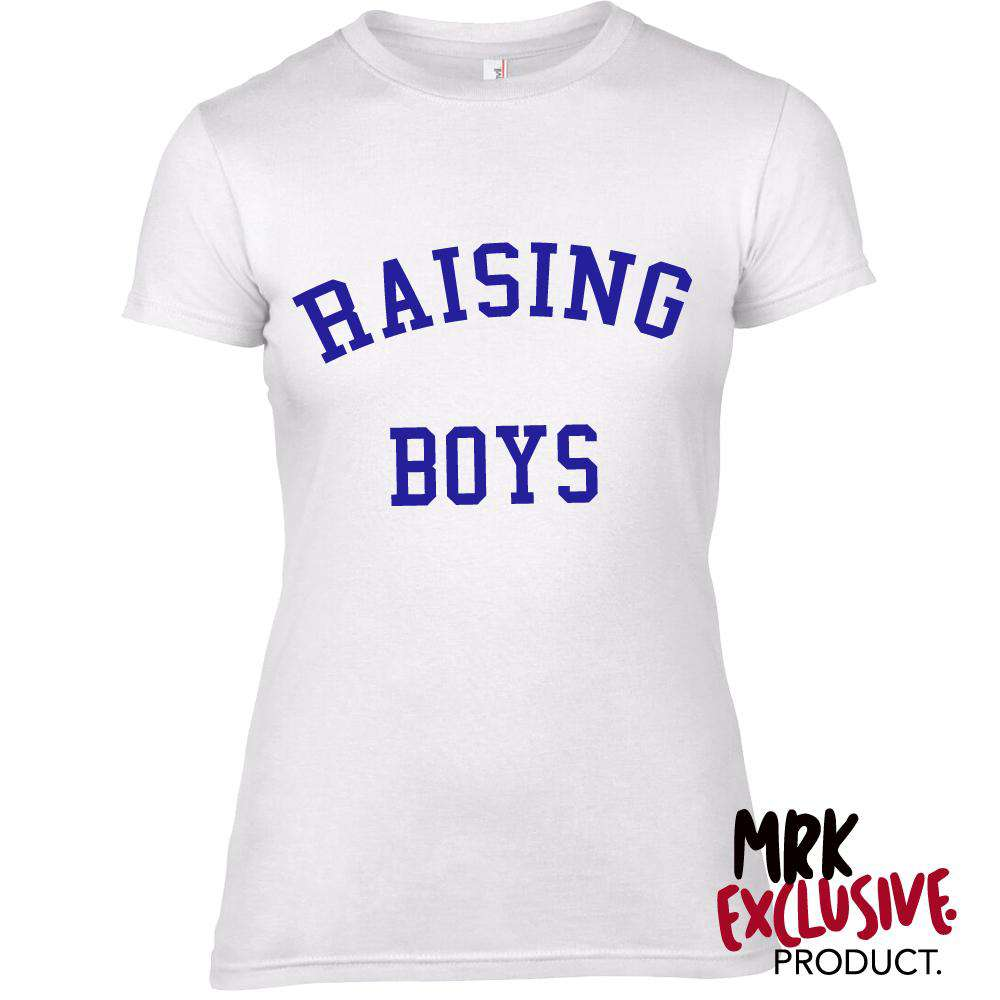 Raising Boys Womens Crew Tee (MRK X)
