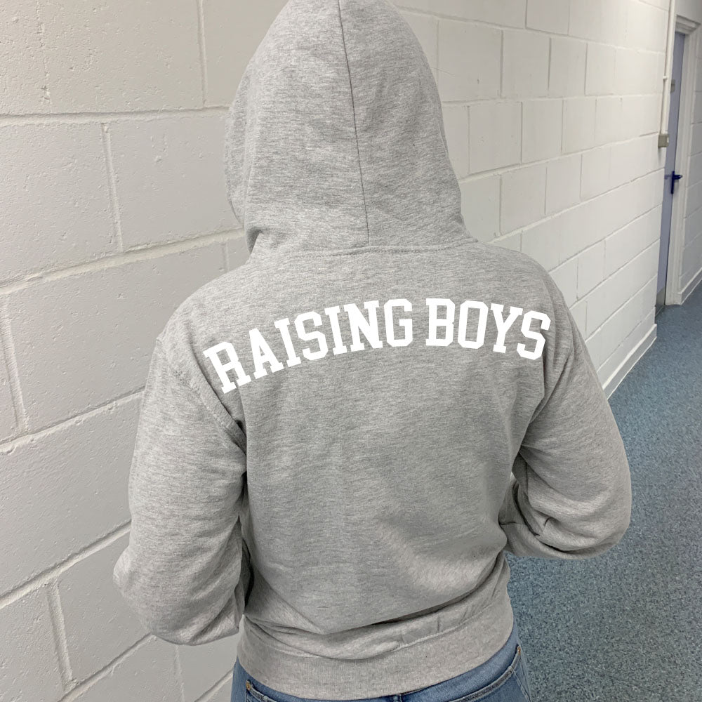 Raising Boys Spirit Zip-Up Hoodie (MRK X)