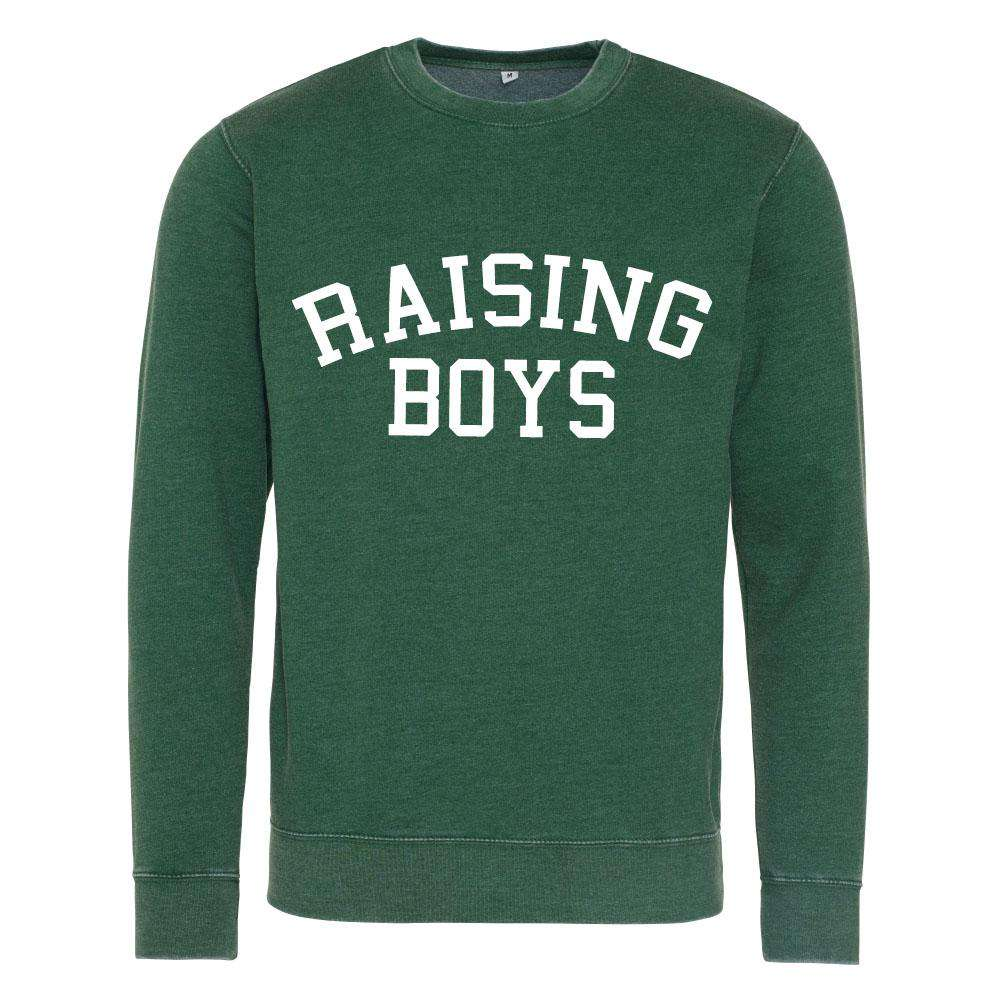 Raising Boys Distressed Sweatshirt (MRK X)