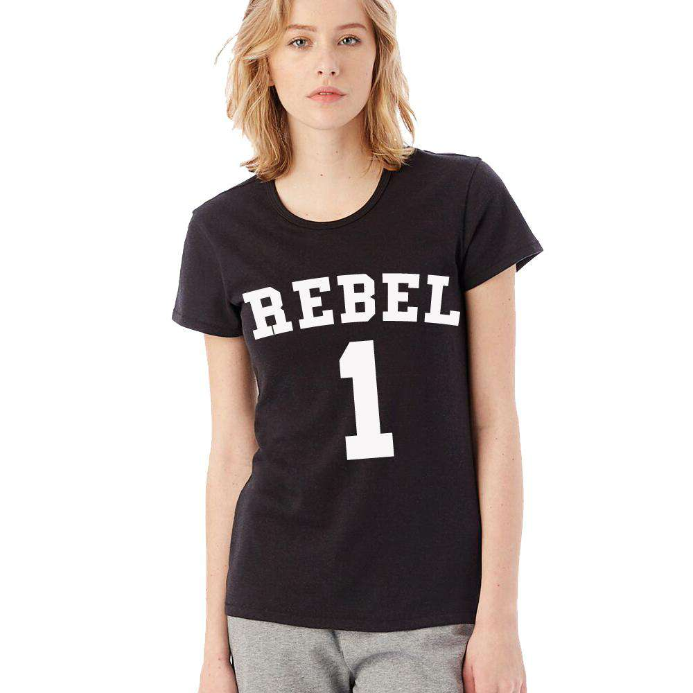 REBELS Mummy & ME Matching Black Tees (MRK X)