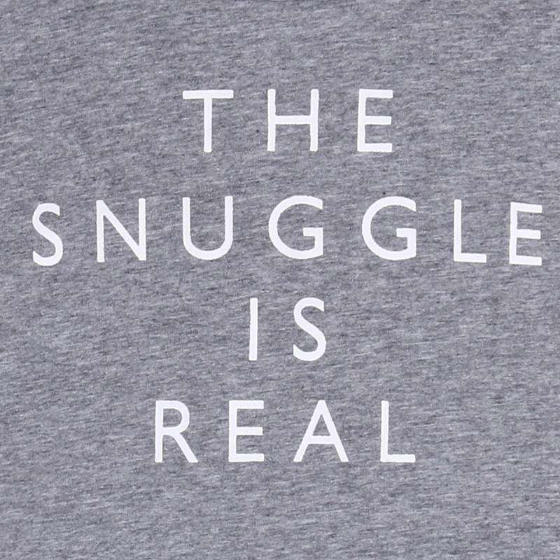 Snuggle Is Real T-Shirt (0-13 Years) (MRK X)