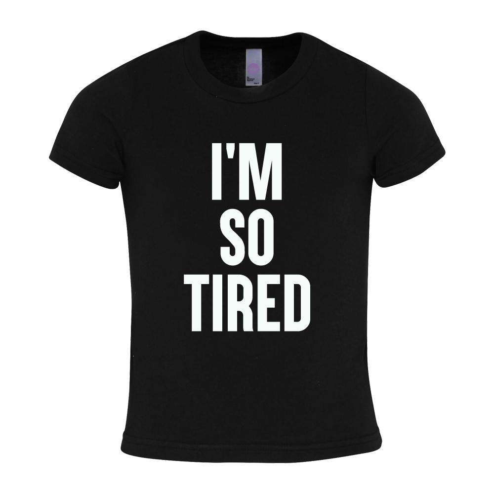 Tired/Not Tired Matching Black Tees (MRK X)