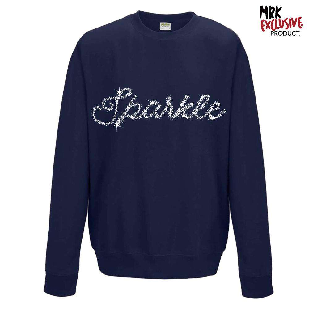 Sparkle Festive Navy Sweater (MRK X)