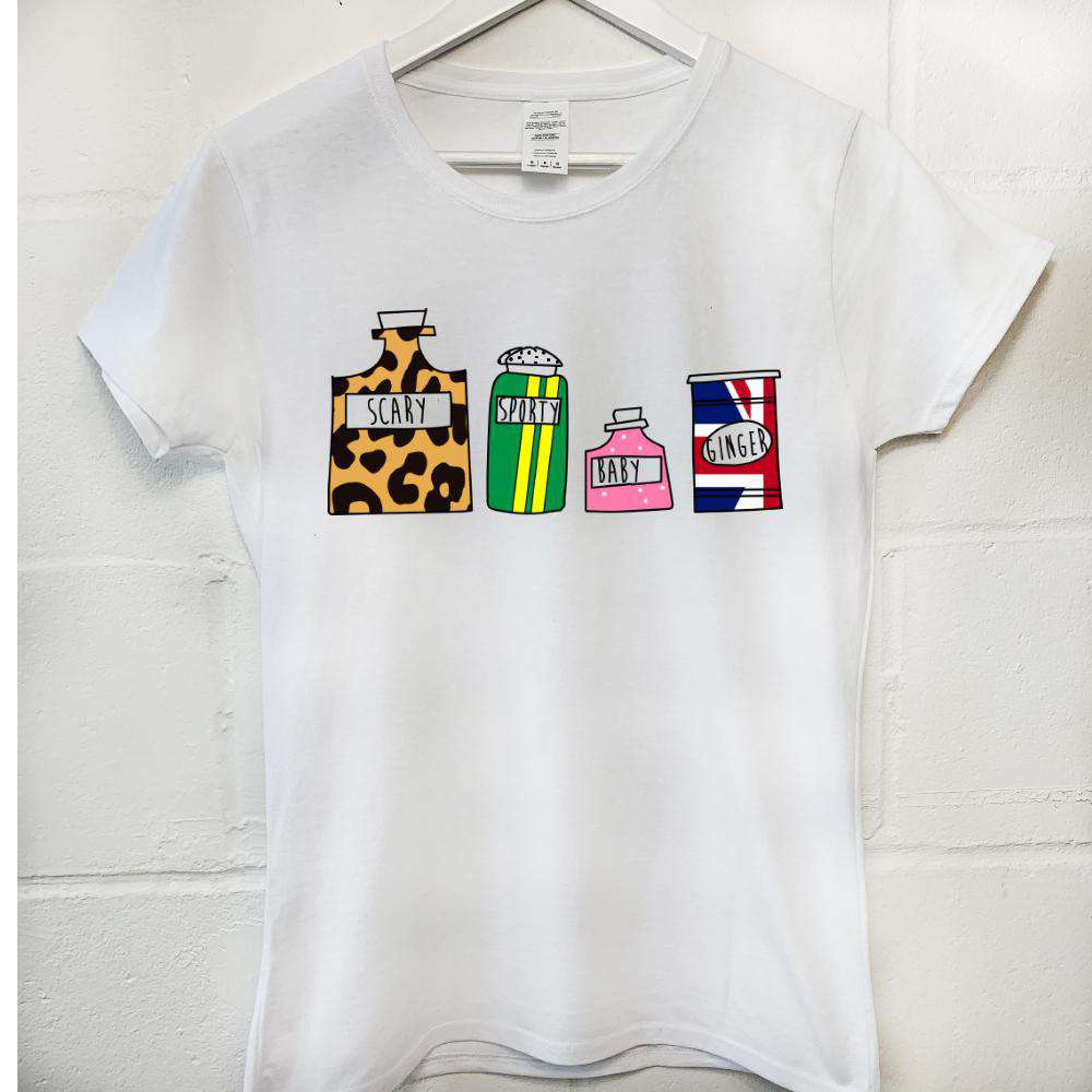 Spice Girls Bottles Tee (MRK X)