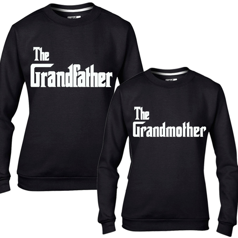 The Grandfather & Grandmother Black Sweaters (MRK X)