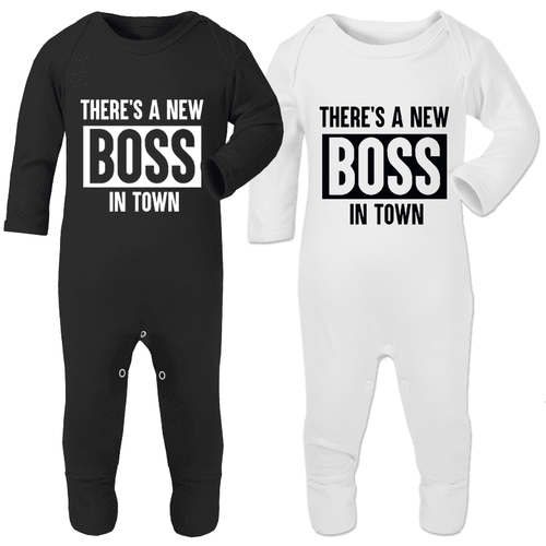 New Boss In Town - Rompersuits (MRK X)