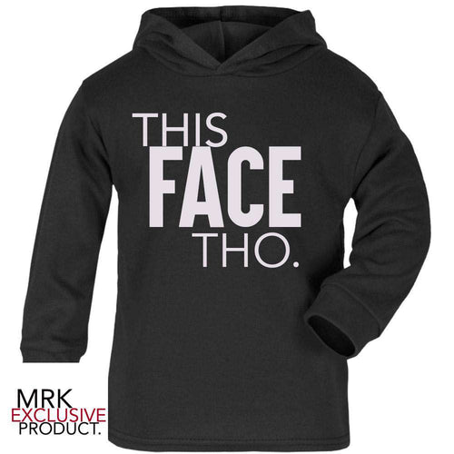 This Face THO. Black Hoody (MRK X)