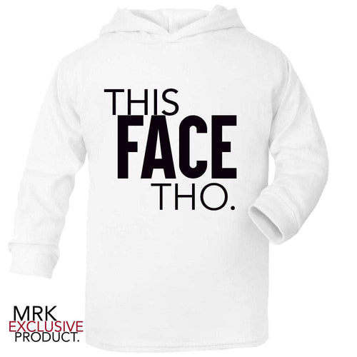 This Face THO. White Hoody (MRK X)