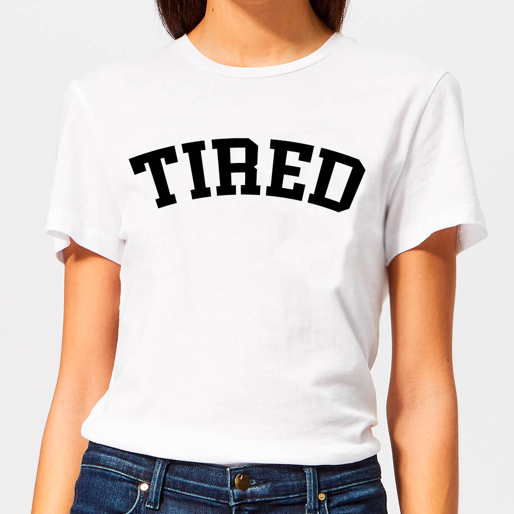 Tired College Tee (MRK X)