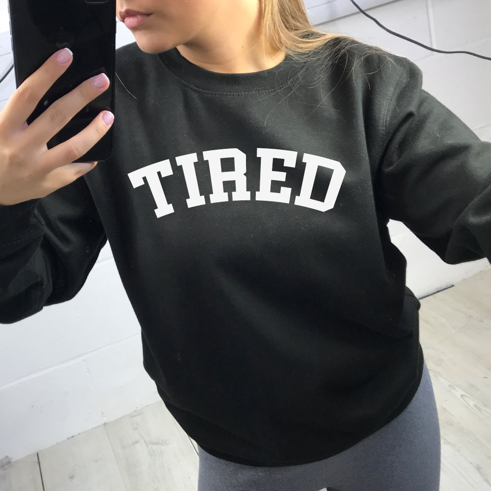 Tired College Sweater (MRK X)