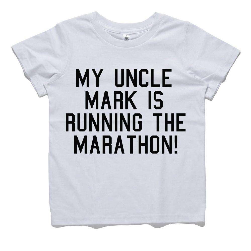 Personalised Uncle Running Marathon Tee (MRK X)