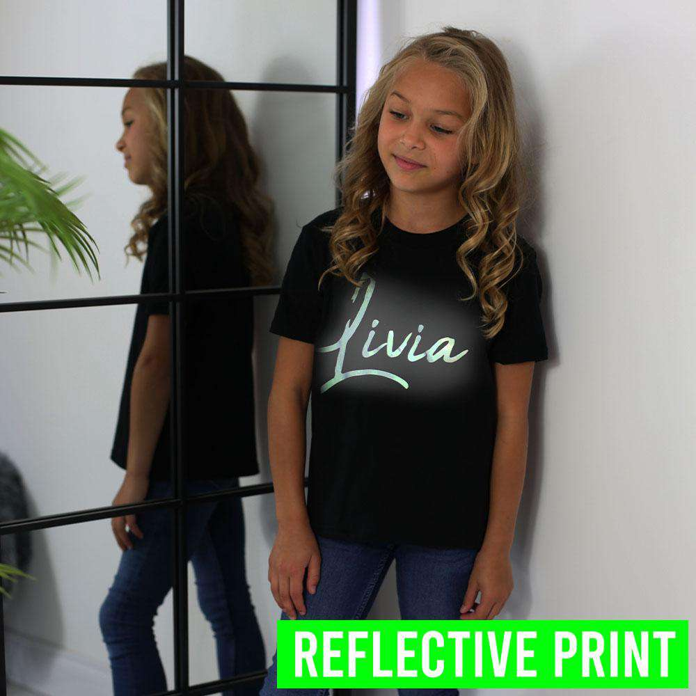 Personalised Reflective Name Tee (MRK X)