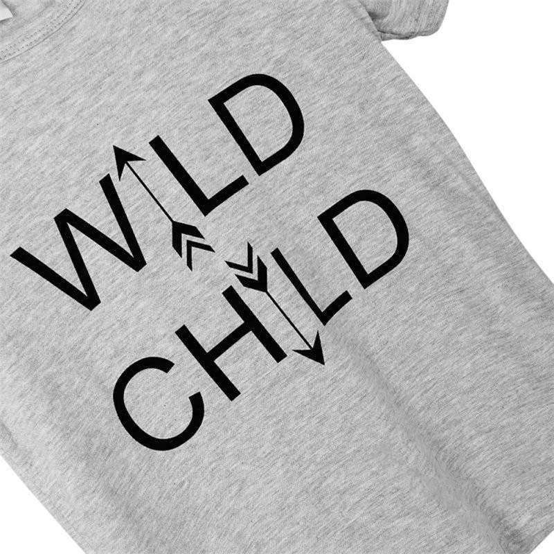 Wild Child T-Shirt (1-6 Years)