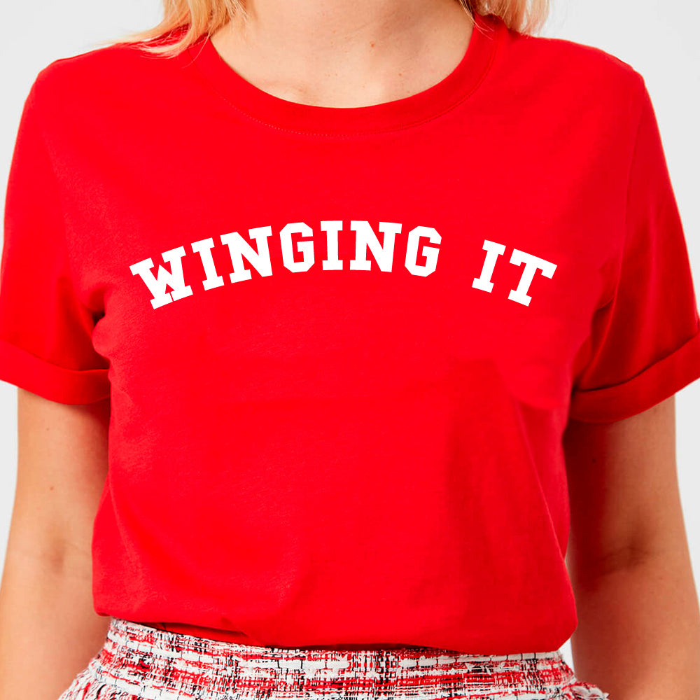 Winging It College Tee (MRK X)