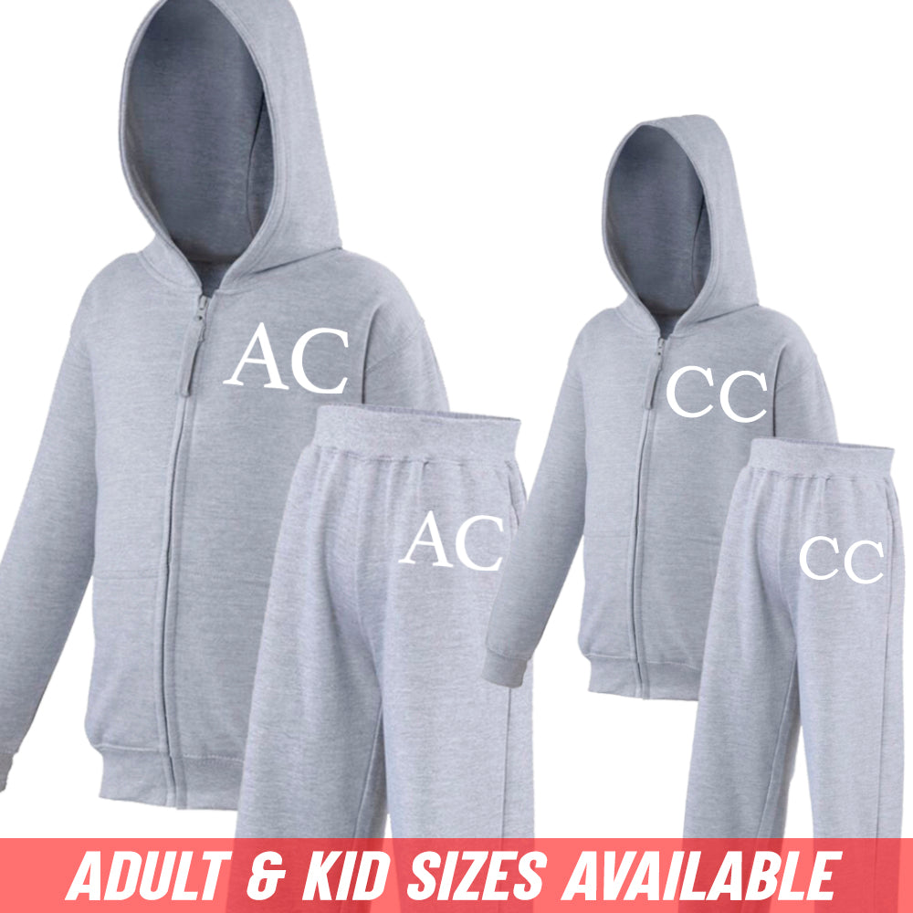 Personalised Legacy Kid & Adult Matching Tracksuit Sets (MRK X)