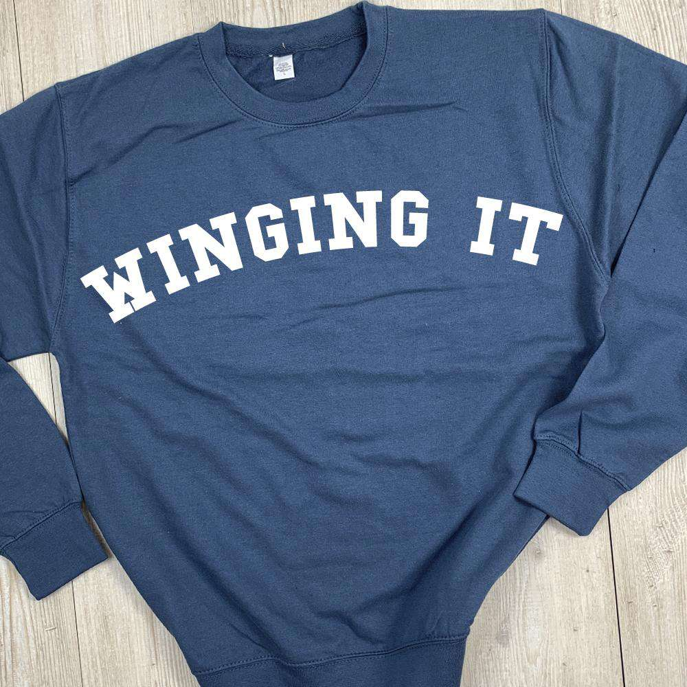 Winging It College Sweater (MRK X)