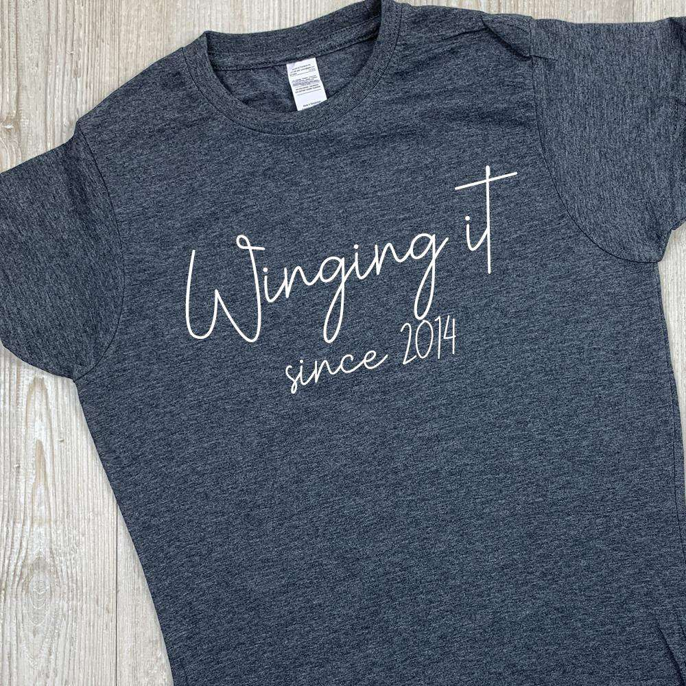 Personalised Winging It Tees (MRK X)
