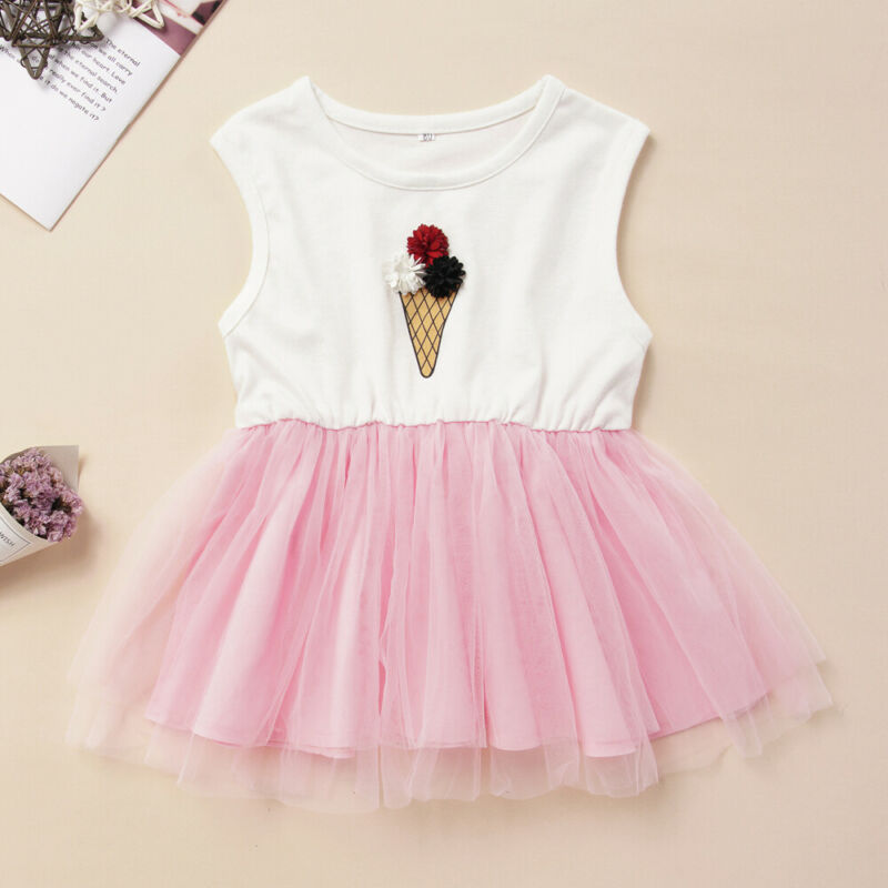 Ice Cream Summer Tutu Dress (MRK X)