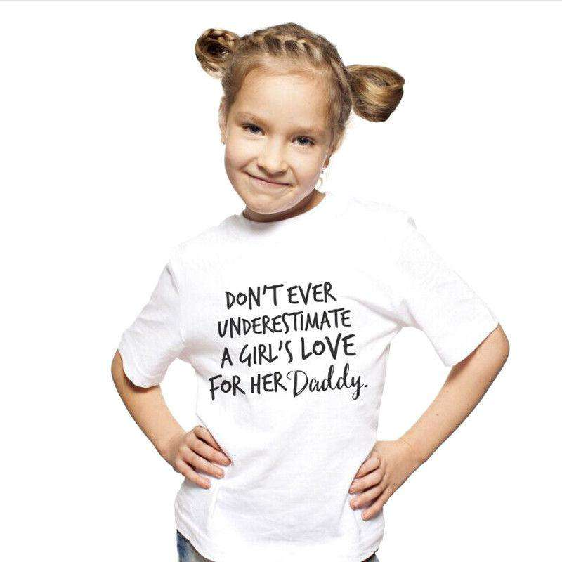 Kids Love For Mum & Dad White Tee (MRK X)