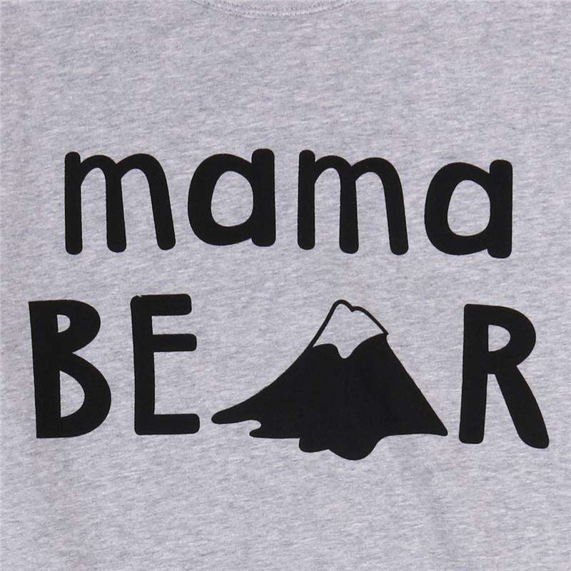 Mama Bear Mummy & ME Matching Grey Tees (MRK X)