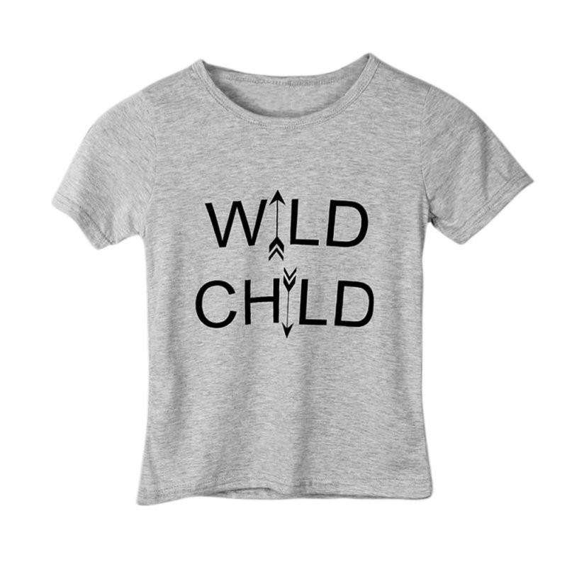Wild Child T-Shirt (1-6 Years) (MRK X)